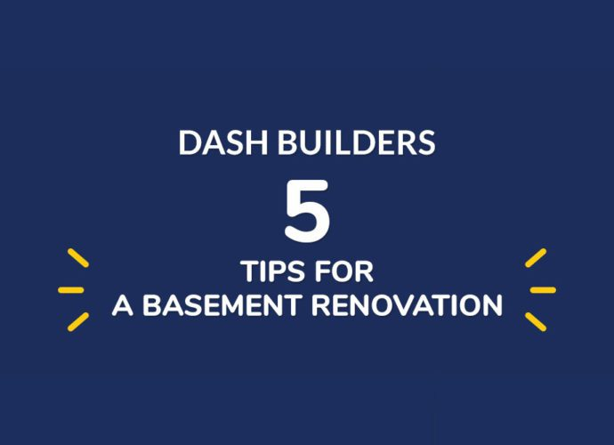 Five Tips for Successful Basement Renovations