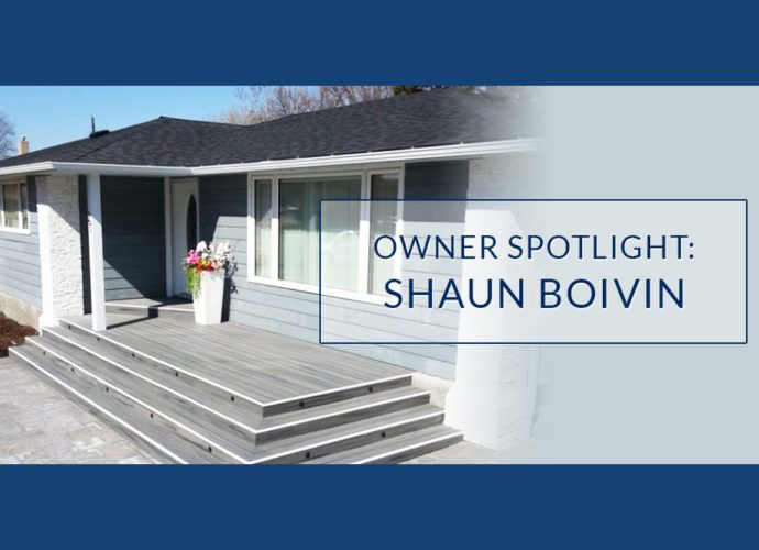 Owner Spotlight: Shaun Boivin