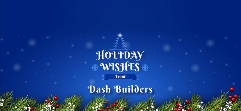 Season's Greetings from Dash Builders
