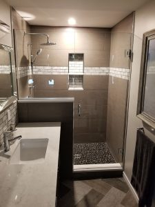 Homebuyer horror story leads to extraordinary ensuite bathroom renovation