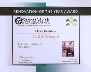 Renomark Gold Award - Homebuyer horror story leads to extraordinary ensuite bathroom renovation